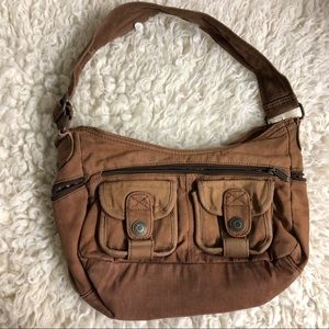 Levi brown shoulder bag